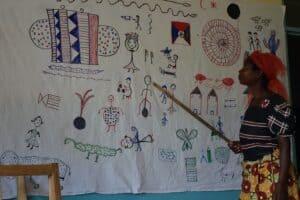 A Banachimbusa teaching Bemba Tradition/Culture